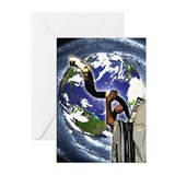 Shofar Earth Greeting Cards (Pk of 10)