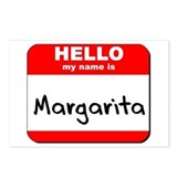 Hello my name is Margarita Postcards (Package of 8