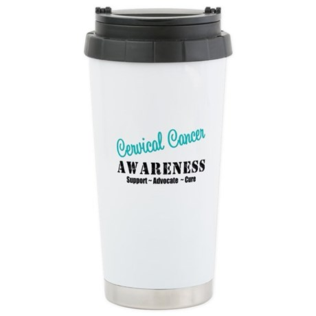 Cervical Cancer Ceramic Travel Mug