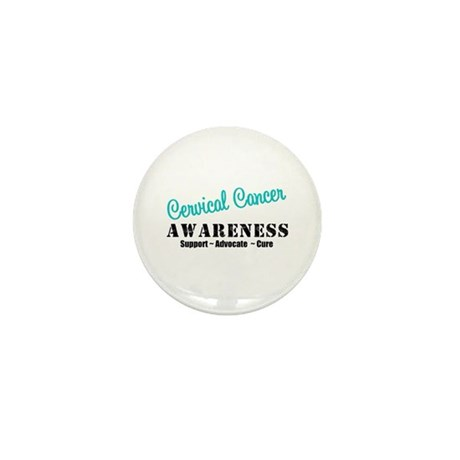 Cervical Cancer Mini Button