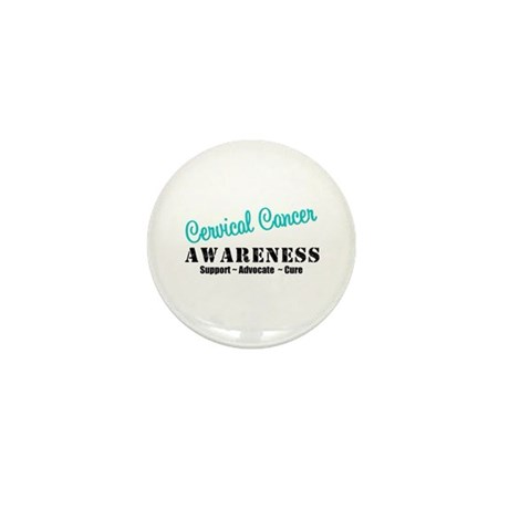 Cervical Cancer Mini Button (10 pack)