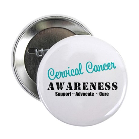 "Cervical Cancer 2.25"" Button (10 pack)"