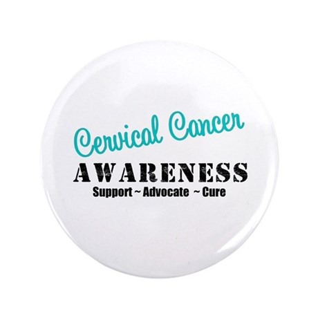 "Cervical Cancer 3.5"" Button"