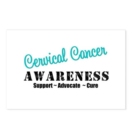 Cervical Cancer Postcards (Package of 8)