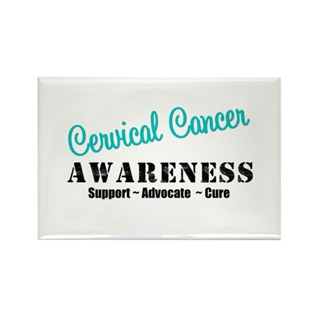 Cervical Cancer Rectangle Magnet (10 pack)