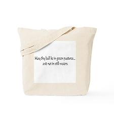 Humorous Golfer Tote Bag