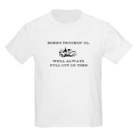 Mike's trucking co. Kids T-Shirt