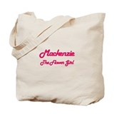 Mackenzie - The Flower Girl Tote Bag