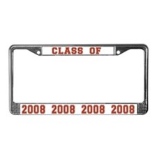 Class of 2008 License Plate Frame
