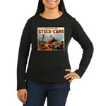 French Racing Women's Long Sleeve Dark T-Shirt