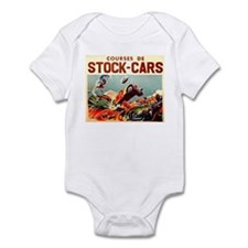 French Racing Infant Bodysuit