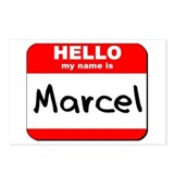 Hello my name is Marcel Postcards (Package of 8)
