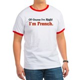 I'm French T