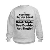 Customer Service Agent Sweatshirt