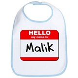 Hello my name is Malik Bib