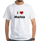 I Love Marina Shirt