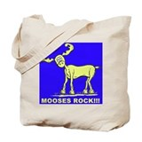 Blue MOOSES ROCK Tote Bag