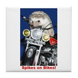 Spikes on Bikes! Tile Coaster