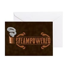 Steampowered Greeting Card