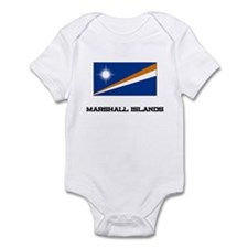 Marshall Islands Flag Infant Bodysuit