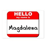 Hello my name is Magdalena Postcards (Package of 8