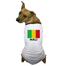 Mali Flag Dog T-Shirt