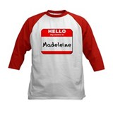 Hello my name is Madeleine Tee