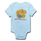 Groovy English Springer Spaniel Infant Bodysuit