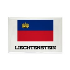 Liechtenstein Flag Rectangle Magnet (10 pack)