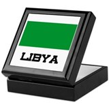 Libya Flag Keepsake Box