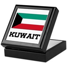 Kuwait Flag Keepsake Box