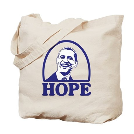 Hope - Barack Obama Tote Bag