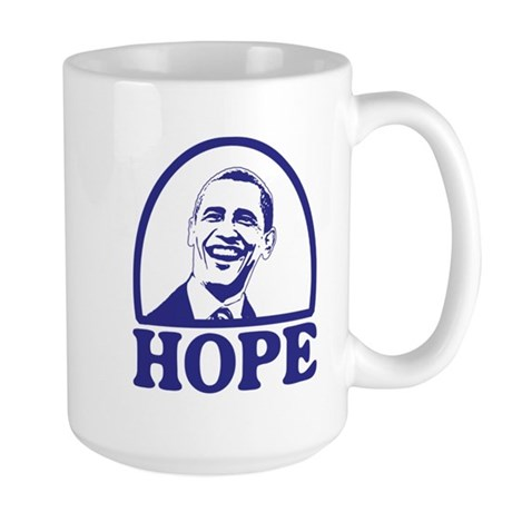 Hope - Barack Obama Large Mug