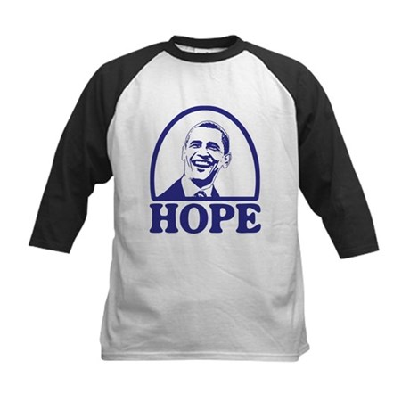 Hope - Barack Obama Kids Baseball Jersey