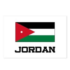 Jordan Flag Postcards (Package of 8)