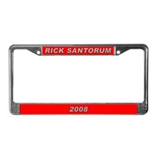 Rick Santorum License Plate Frame-3