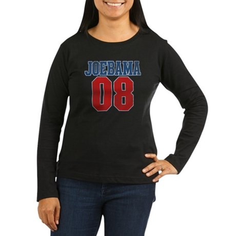 Joebama 08 Women's Long Sleeve Dark T-Shirt