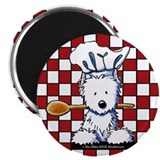 Westie Chef Magnet