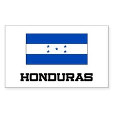 Honduras Flag Rectangle Decal