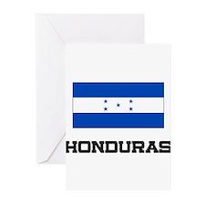 Honduras Flag Greeting Cards (Pk of 10)