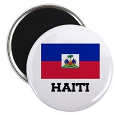 "Haiti Flag 2.25"" Magnet (10 pack)"