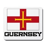 Guernsey Flag Mousepad