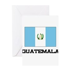 Guatemala Flag Greeting Card