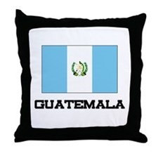 Guatemala Flag Throw Pillow