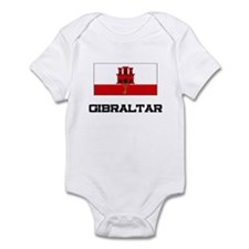 Gibraltar Flag Infant Bodysuit