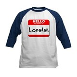 Hello my name is Lorelei Tee