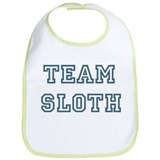 Team Sloth Bib