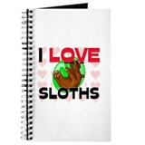 I Love Sloths Journal