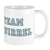 Team Squirrel Small Mug