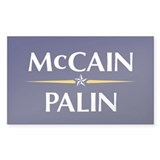 McCain/Palin Rectangle Decal
